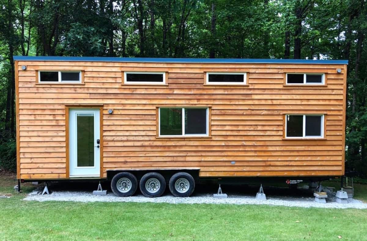 32 ft Tiny House with 2 Lofts Flex Room Walk In