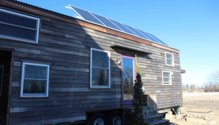 Tiny Home Designs: Off (or On) Grid Dream Home! Incredible Details And